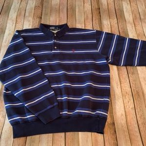 Polo Ralph Lauren Men's fleece lined pullover polo